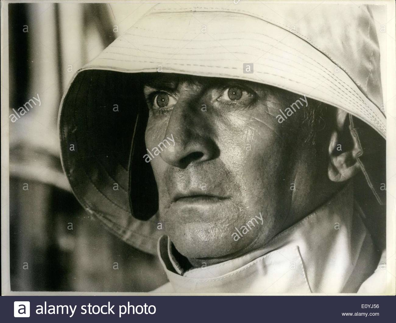 Jul. 03, 1970 - Louis de Funes in Costume for ''Le Gendarme en Balade' - Stock Image