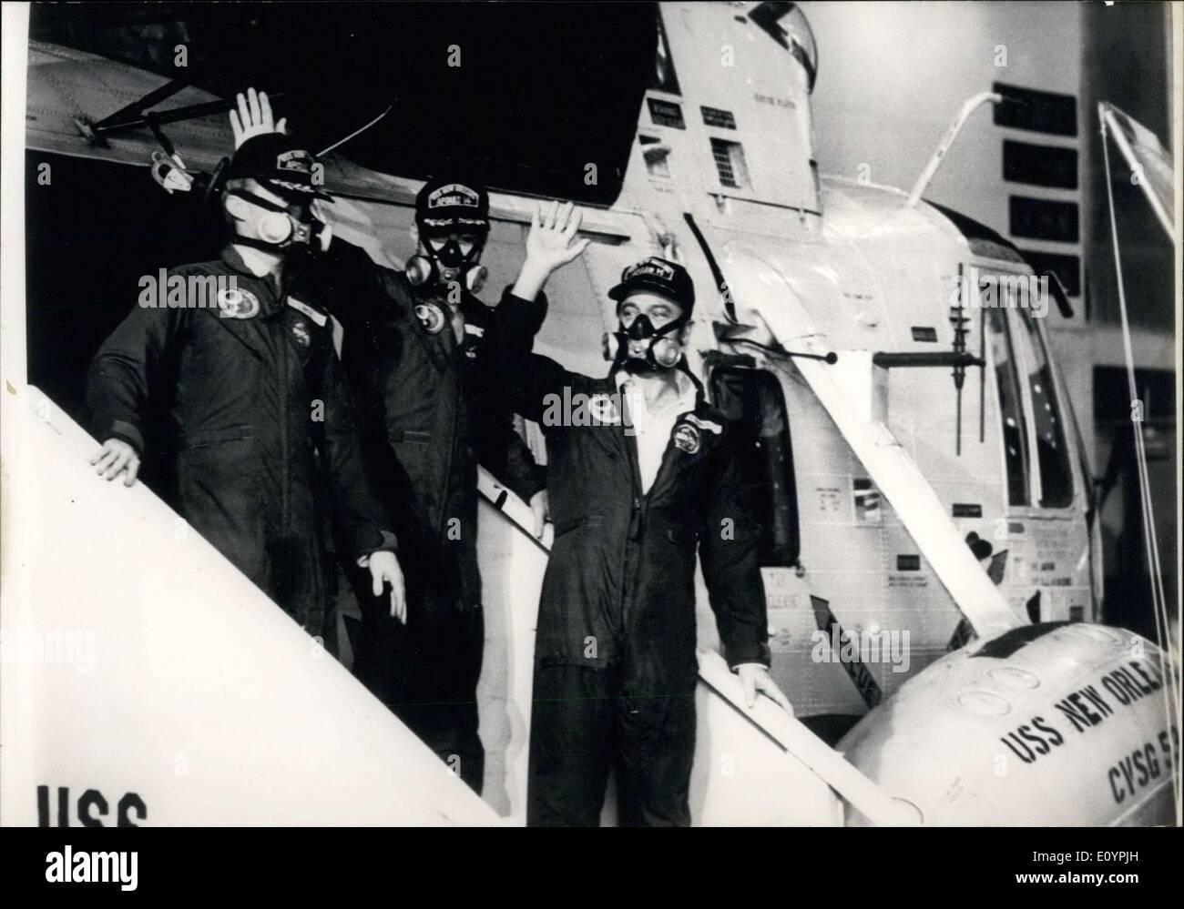 Feb. 15, 1971 - Roosa, Shepard, Mitchele - Stock Image