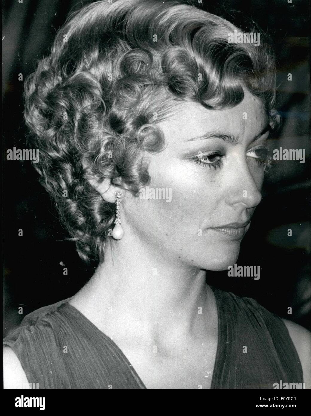 Apr 04 1971 New Hairstyle For Princess Paola Photo Shows Stock