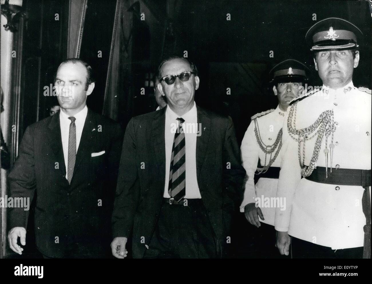 Jun. 06, 1971 - New Premier of Malta Sacks Governor.: Sir Maurice Dorman, 58, resigned yesterday as Governor-General of Malta. This is one of the latest consequences of the one-seat electoral victory by Mr. Dom Mintooff, the Labour Prime Minister, who has said he will scrap the defence and aid treaty with Britain. Before the election he gave a warning that the Governor-General should be a Maltese. In the first few days of his new administration Mr. Mintoff had already dismissed five of the six diplomats who served abroad for Dr. Borg Olivier, the ousted Nationalist Prime Minister - Stock Image