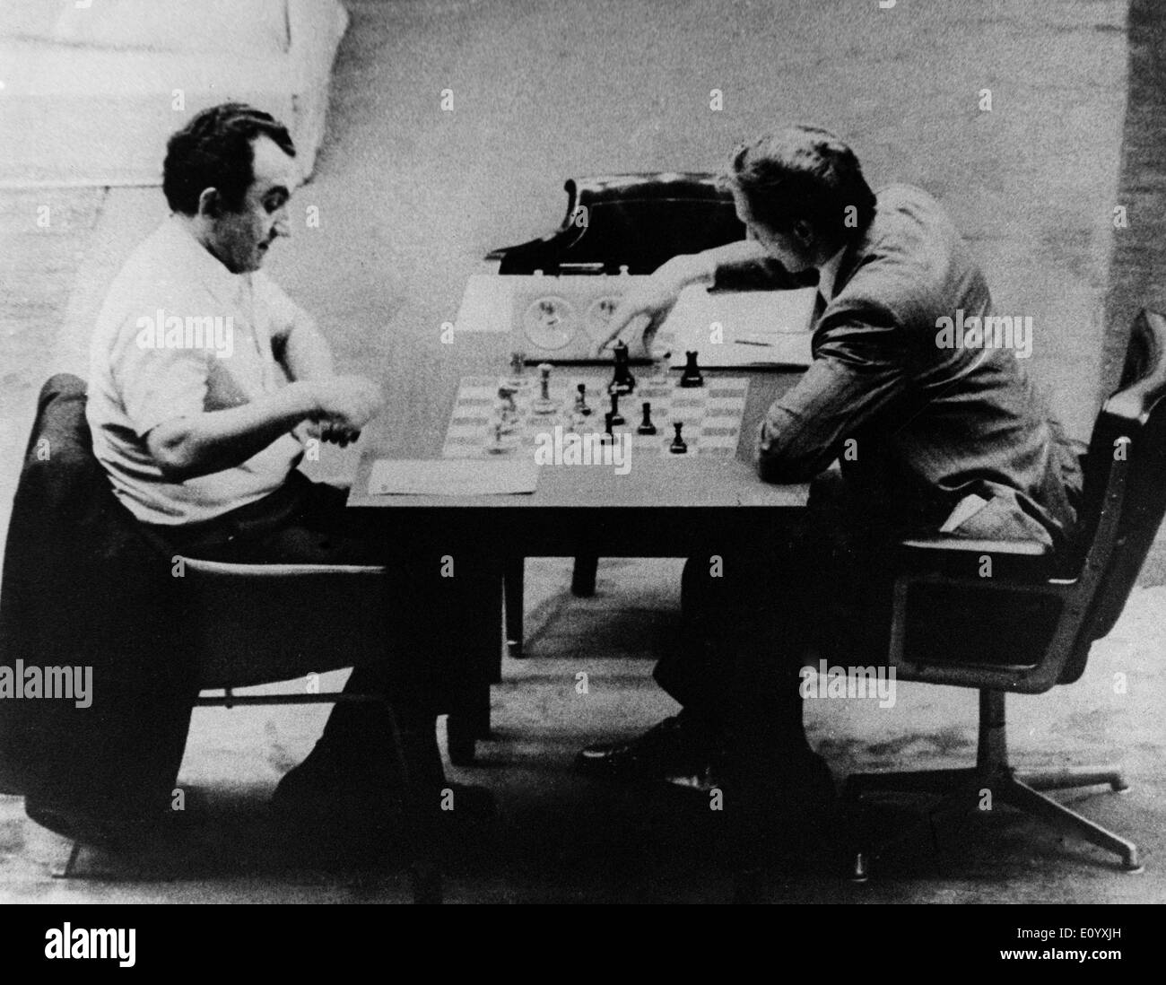 Oct. 04, 1971 - Buenos Aires, , Argentina - Former world chess champion BOBBY FISCHER of the United States, arrested - Stock Image