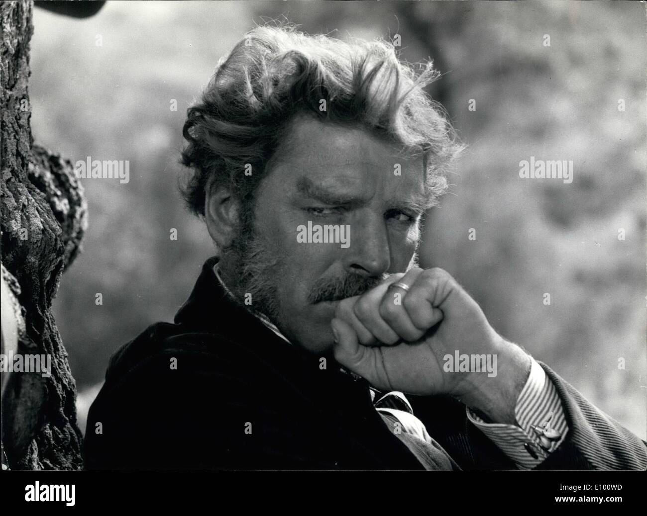 Feb. 02, 1972 - Burt Lancaster stars in ''The Leopard,'' a Titanus production directed by Luchino Visconti and produced by Goffredo Lombardo for 20th Century-Fox release. The film, in Technicolor and Technirama, is adapted from the best-selling novel by Giuseppe Tomasi di Lampedusa. Above Burt Lancaster as Prince Salina. - Stock Image