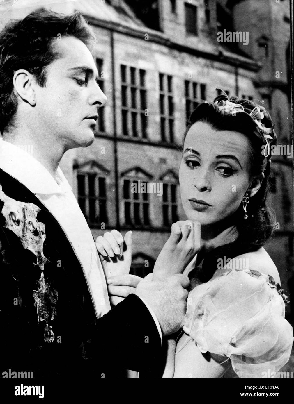 Claire Bloom and Richard Burton in play - Stock Image