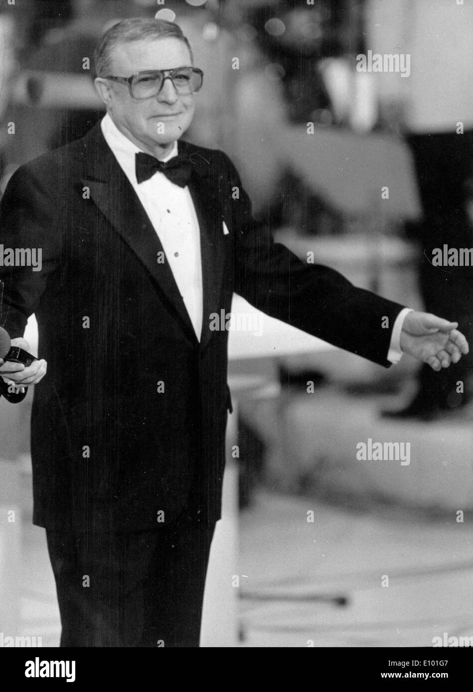 Dancer Gene Kelly presents at Cesar Awards - Stock Image