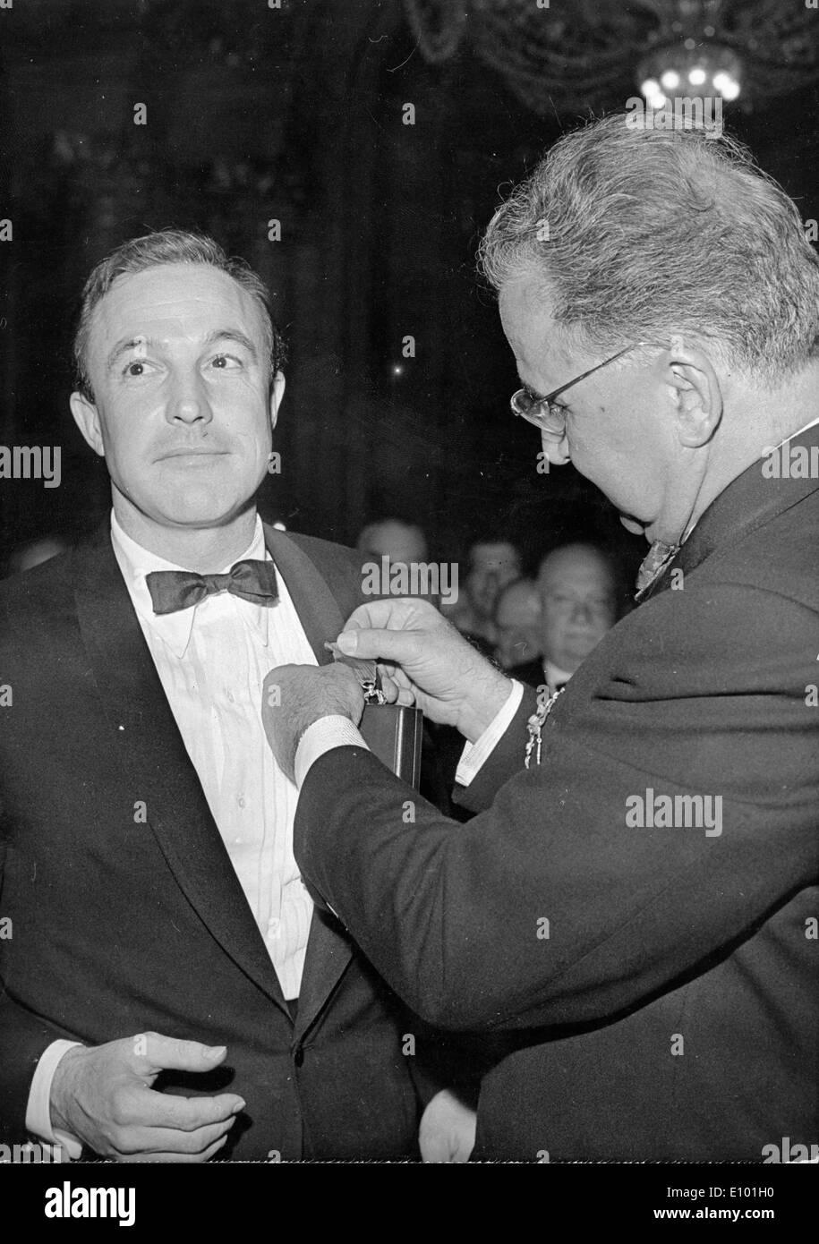 Dancer Gene Kelly receives Legion of Honor - Stock Image