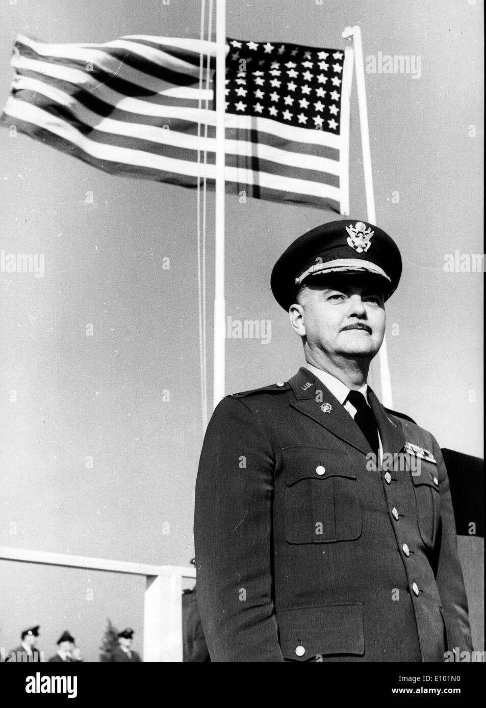 Colonel commander Bremerhaven IRVIN W. BROOKS - Stock Image