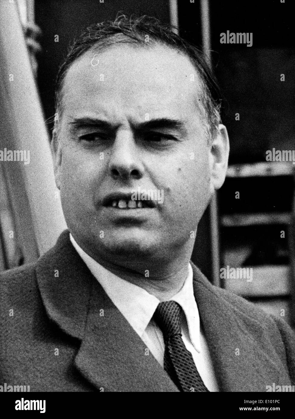 GEOFFREY BING was a British barrister and politician who served as the Labour Member of Parliament for Hornchurch - Stock Image