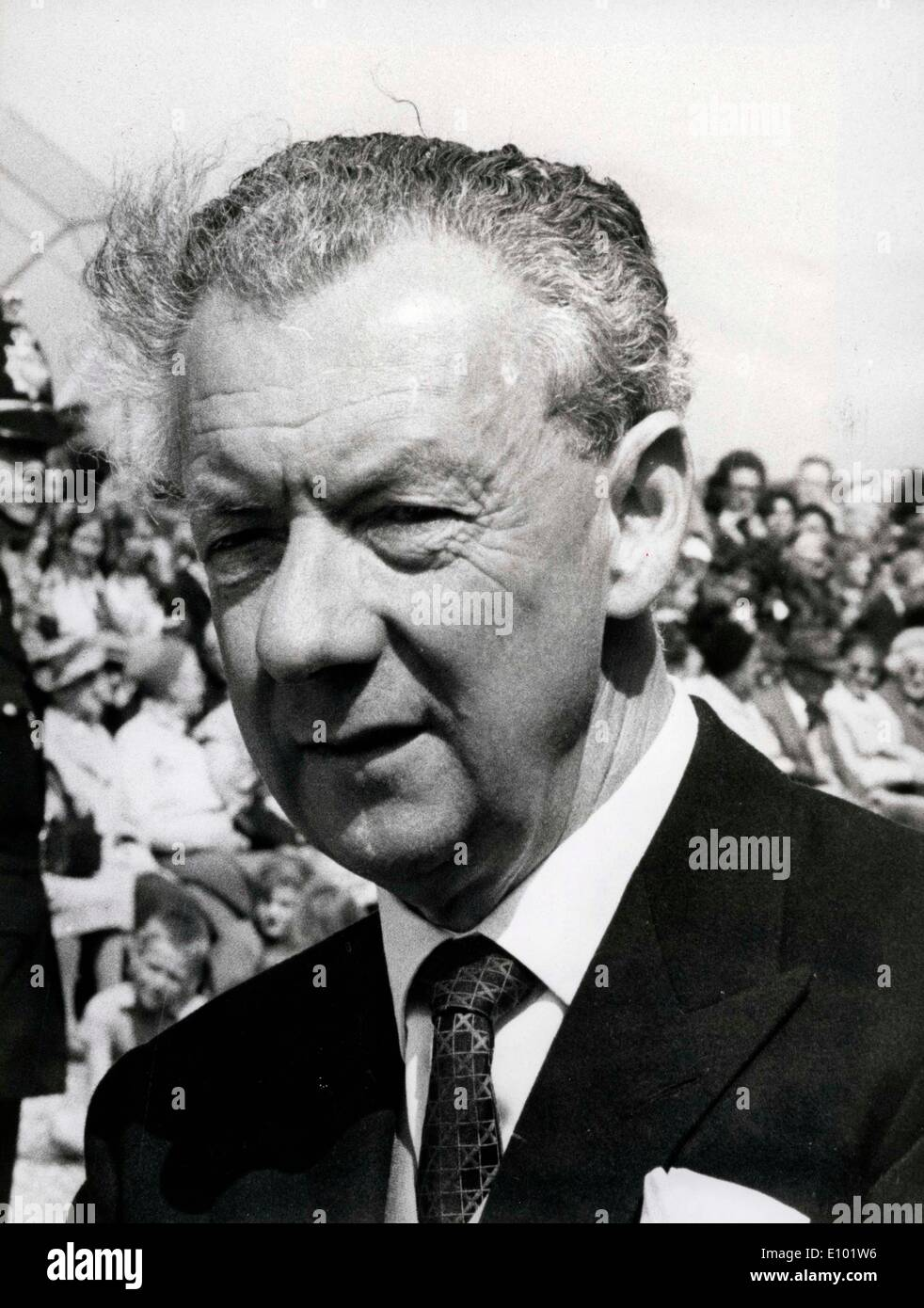 English composer, conductor and pianist, BENJAMIN BRITTEN Edward Benjamin Britten, Baron Britten of Aldeburgh - Stock Image