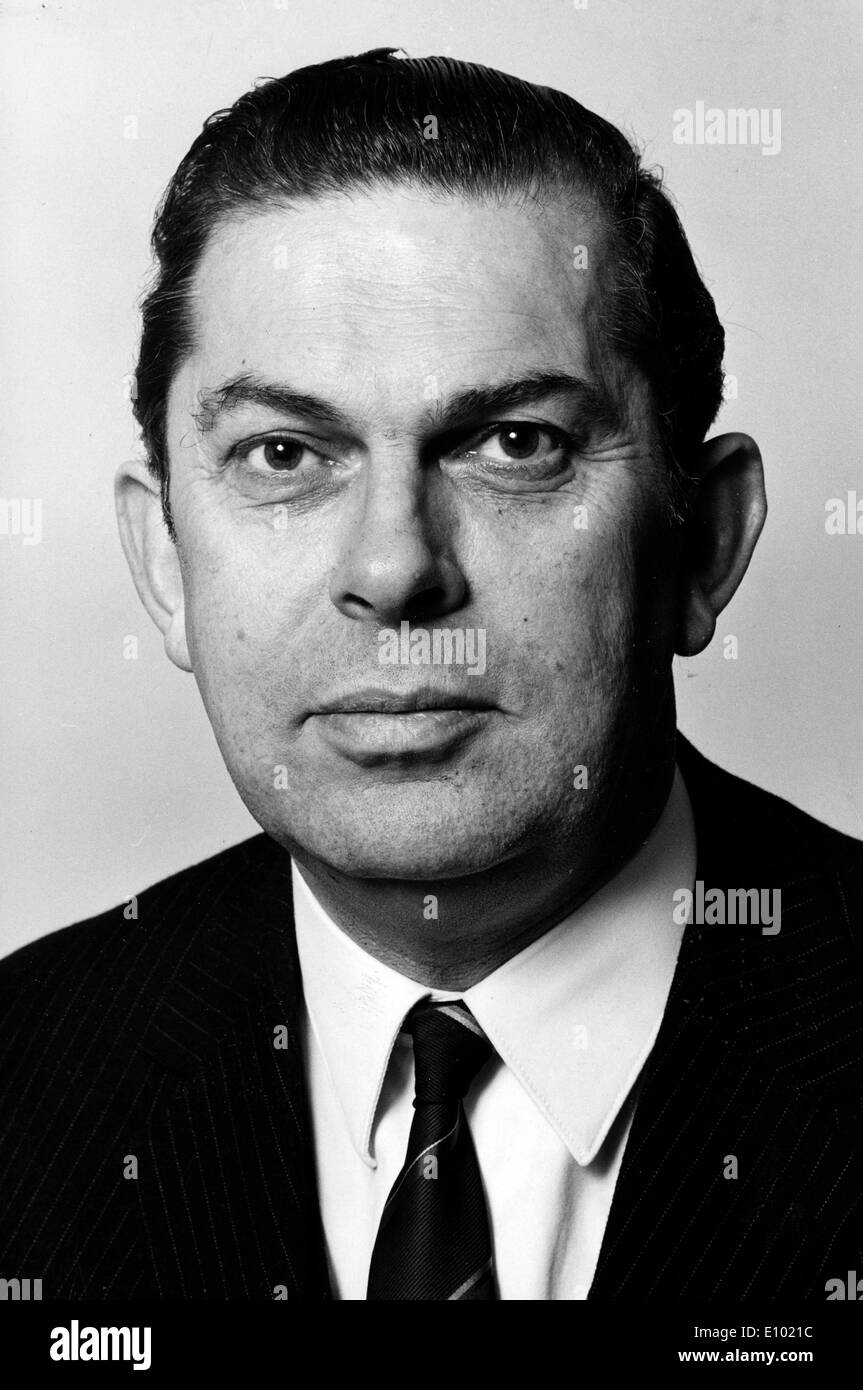 BAREND BIESHEUVEL was a Dutch politician of the defunct Anti Revolutionary Party now merged into the Christian Democratic Appeal - Stock Image