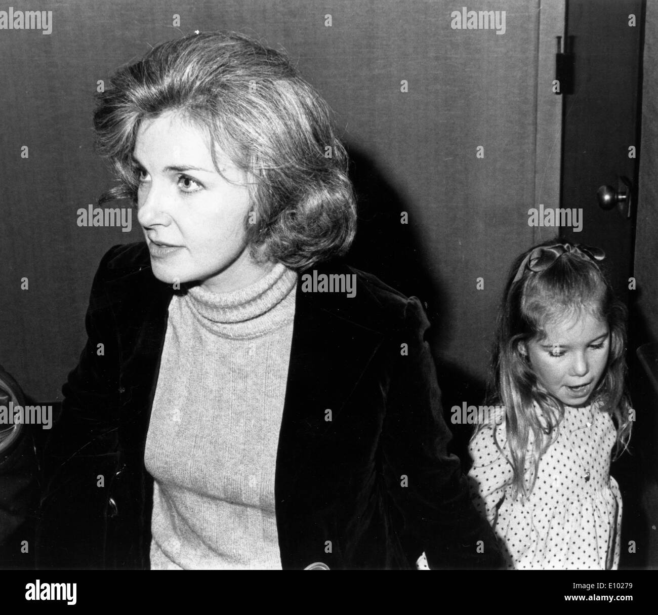 Actress Joanne Woodward at ballet premiere - Stock Image
