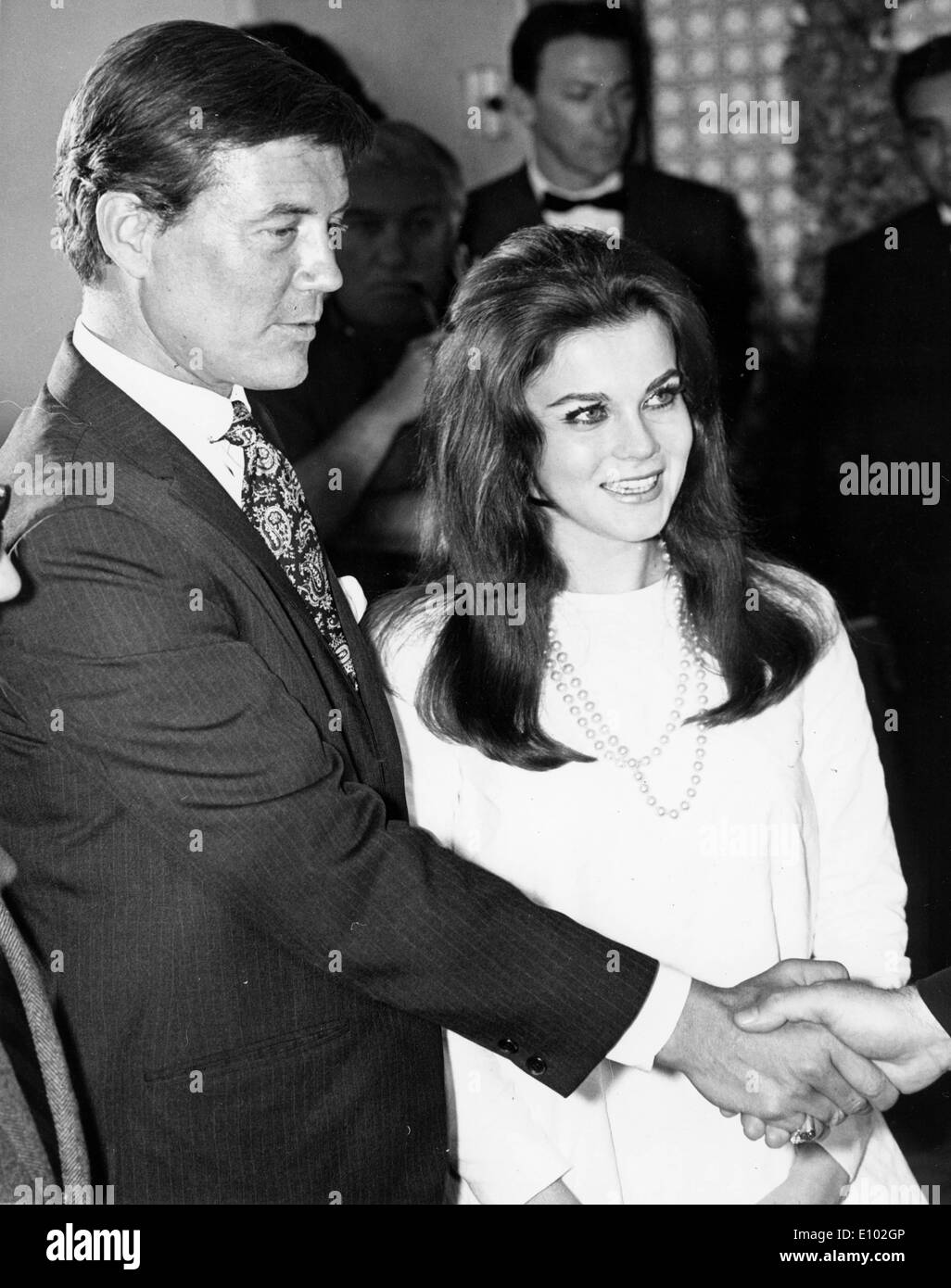 Ann-Margret and Roger Smith wed in Vegas - Stock Image