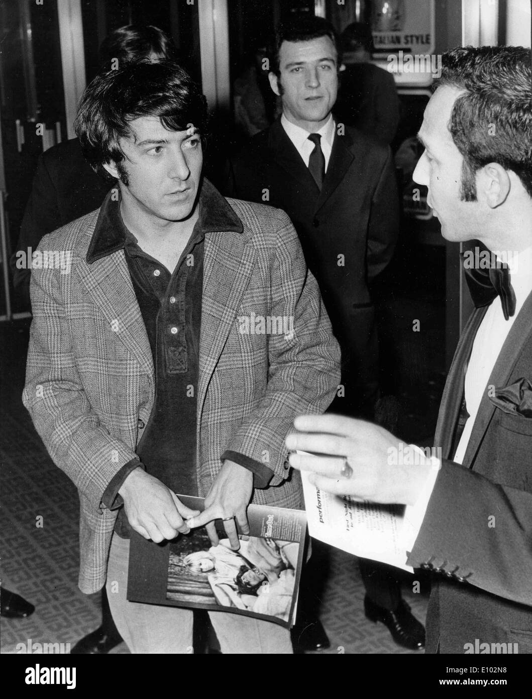 Actor Dustin Hoffman at 'Performance' premiere - Stock Image