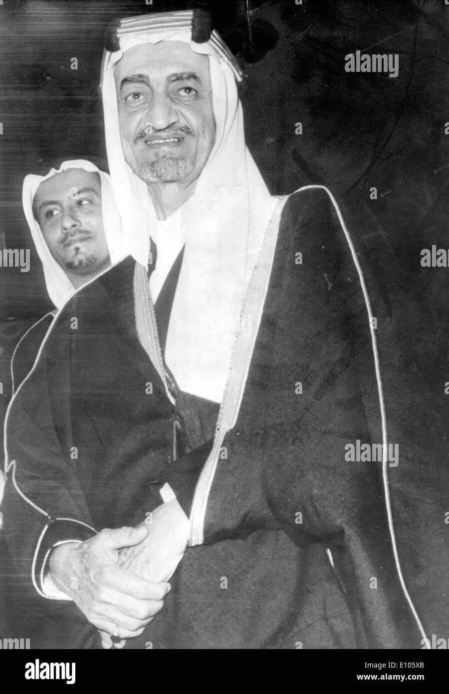 5508077 (900324) Koenig FEISAL, von Saudi-Arabien, Portrait ca. 70er Jahre. 'Nutzung nur gegen Honorar, Beleg, Namensnennung - Stock Image