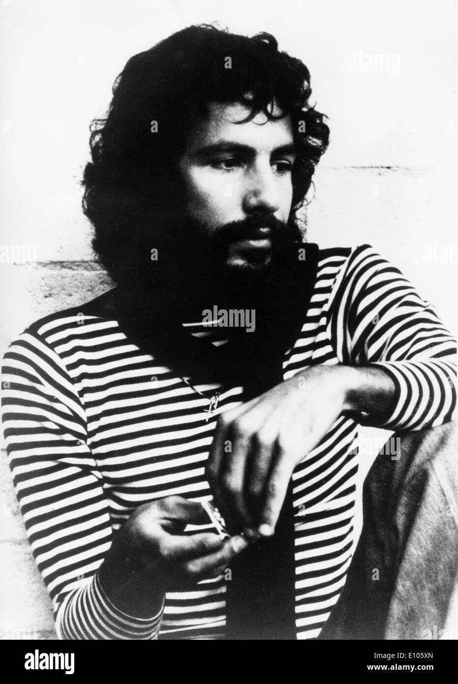 Portrait of musician Cat Stevens - Stock Image