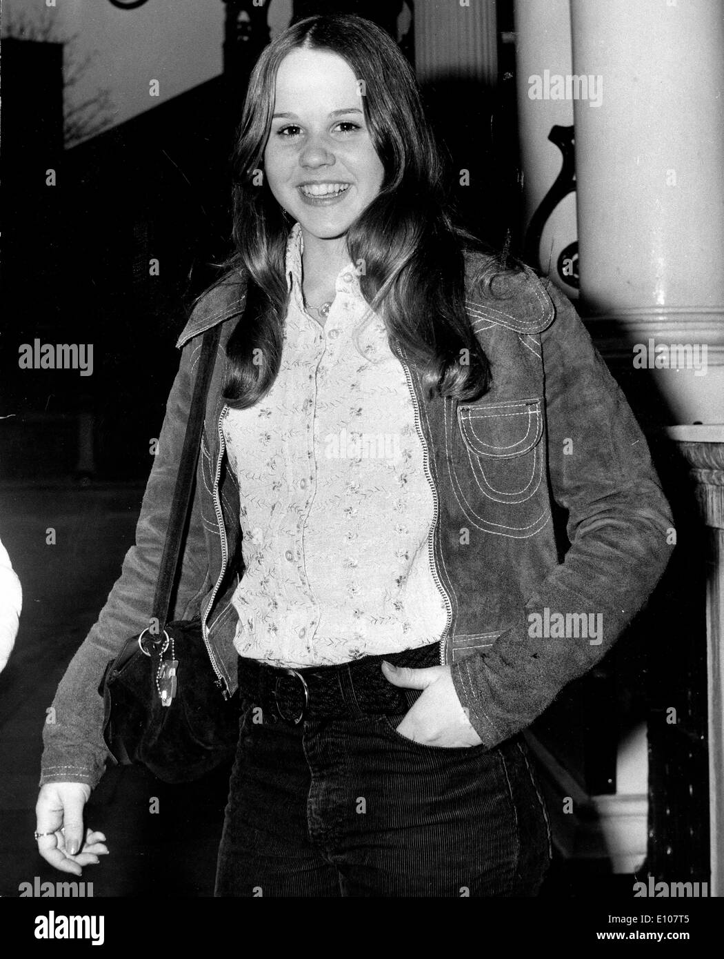 actress linda blair arrives for the exorcist premiere stock photo