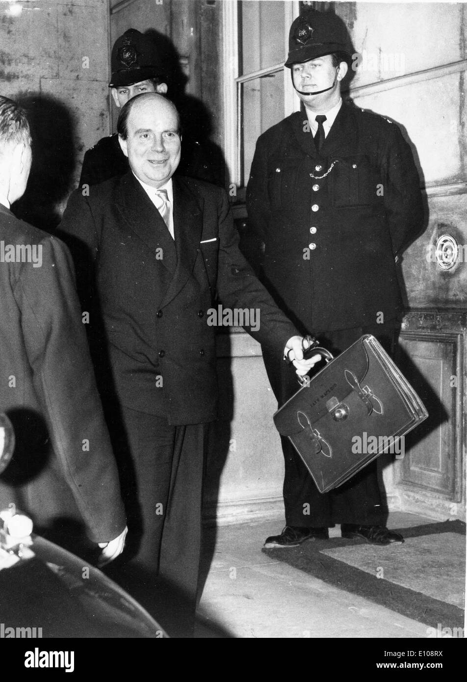 Iain Macleod arrives at Lancaster House - Stock Image