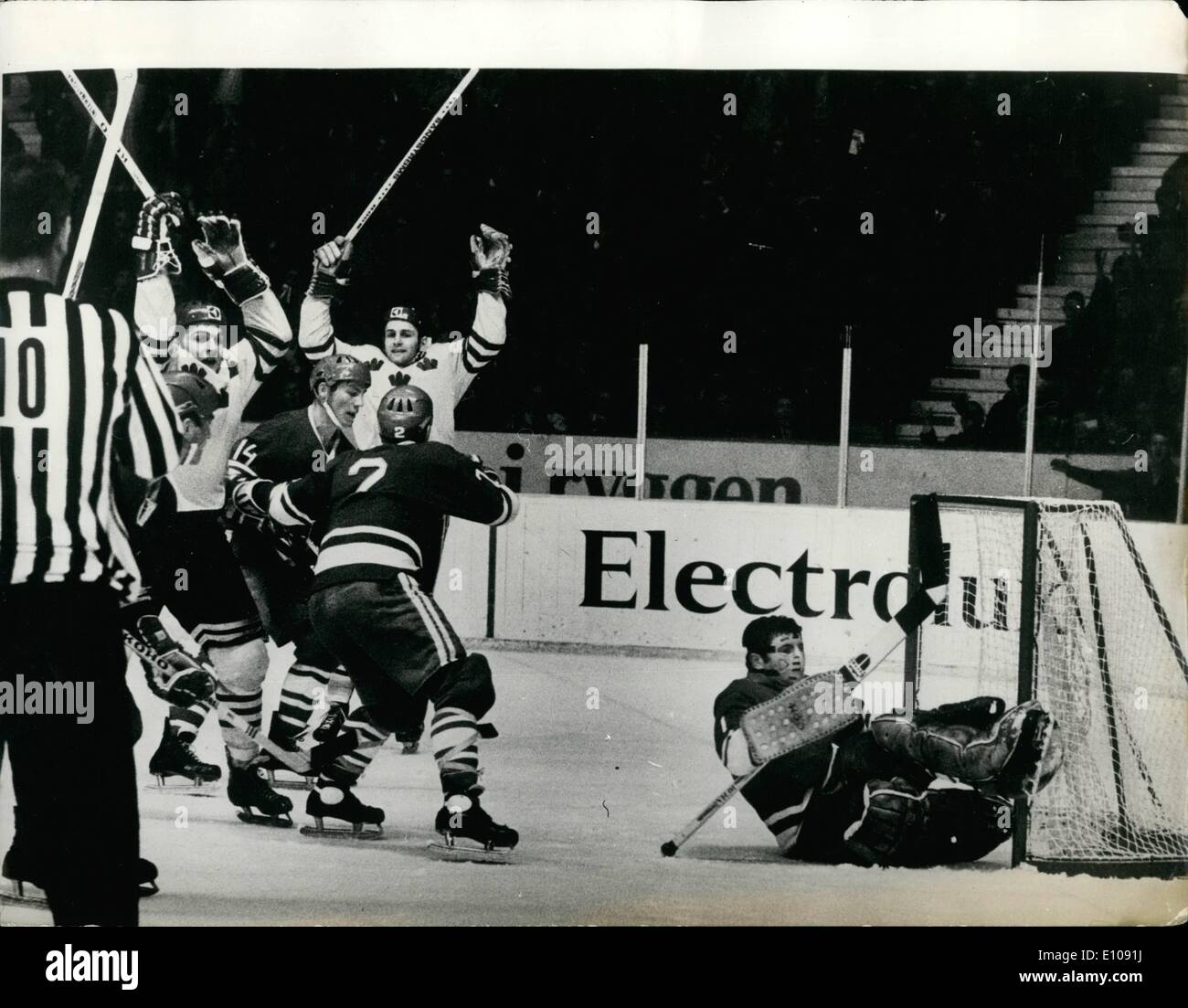 1970 Ice Hockey World Championships In High Resolution Stock ...