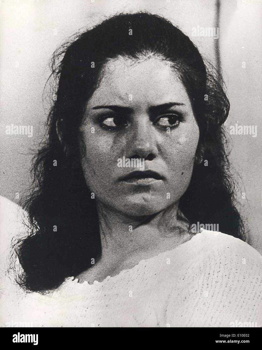Aug 02, 1972 - Zrifin, Israel - THERESE HALASSEH one of the Arab girls that skyjacked Sabena airliner.. - Stock Image