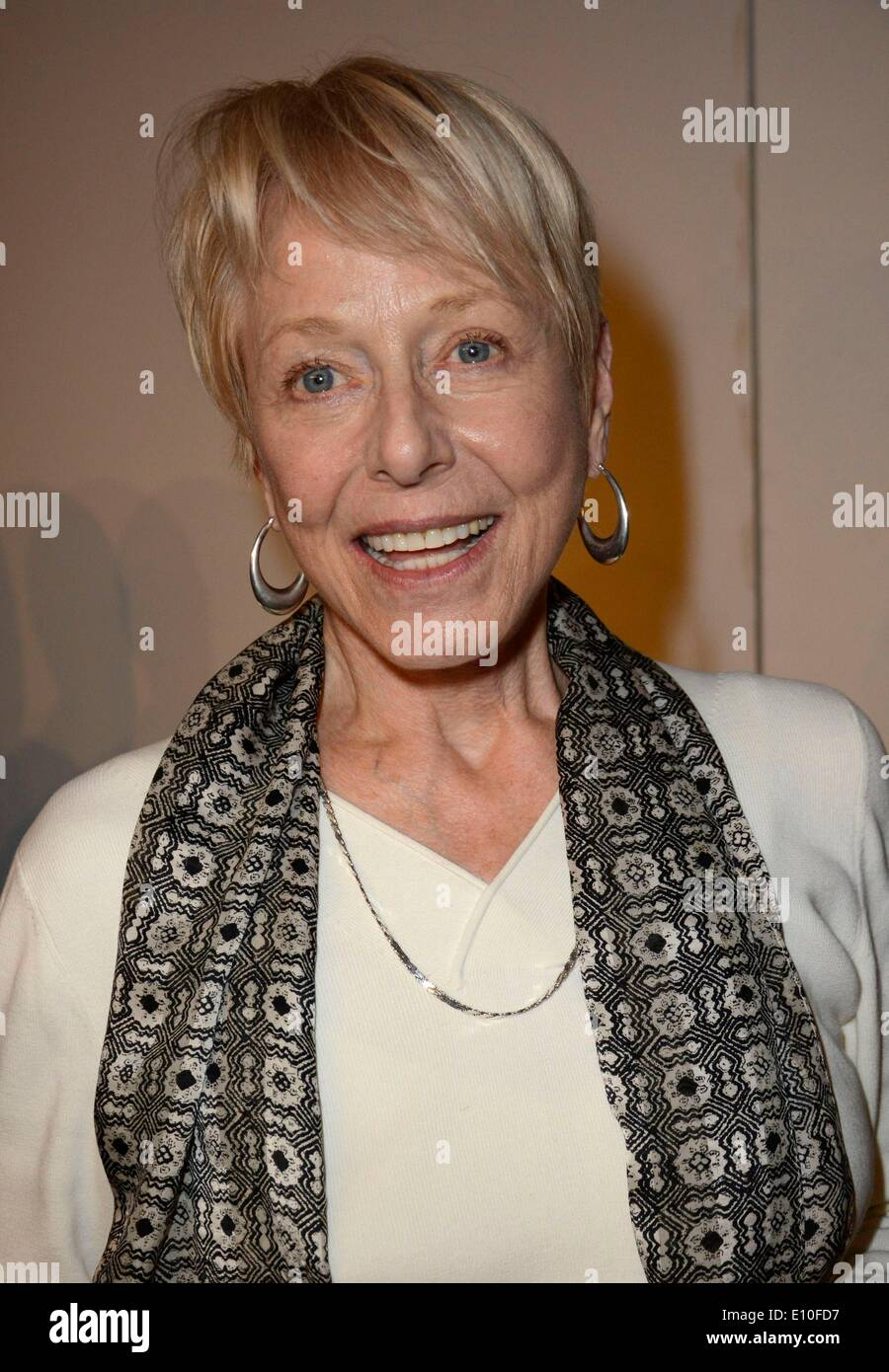 New York, NY, USA. 20th May, 2014. New York, USA. 20th May 2014. Karen Grassle in attendance for Private Reading of New Play HARM'S WAY, Theater Lab, New York, NY May 20, 2014. Credit:  Derek Storm/Everett Collection/Alamy Live News/Alamy Live News - Stock Image