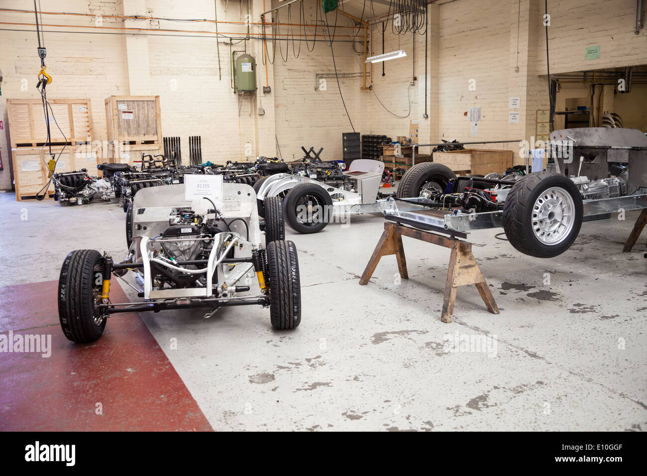 chassis Aluminum Chassis.