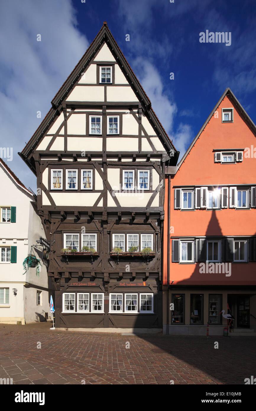 Fachwerkhaus Hotel Stadtschaenke am Marktplatz von Grossbottwar ...