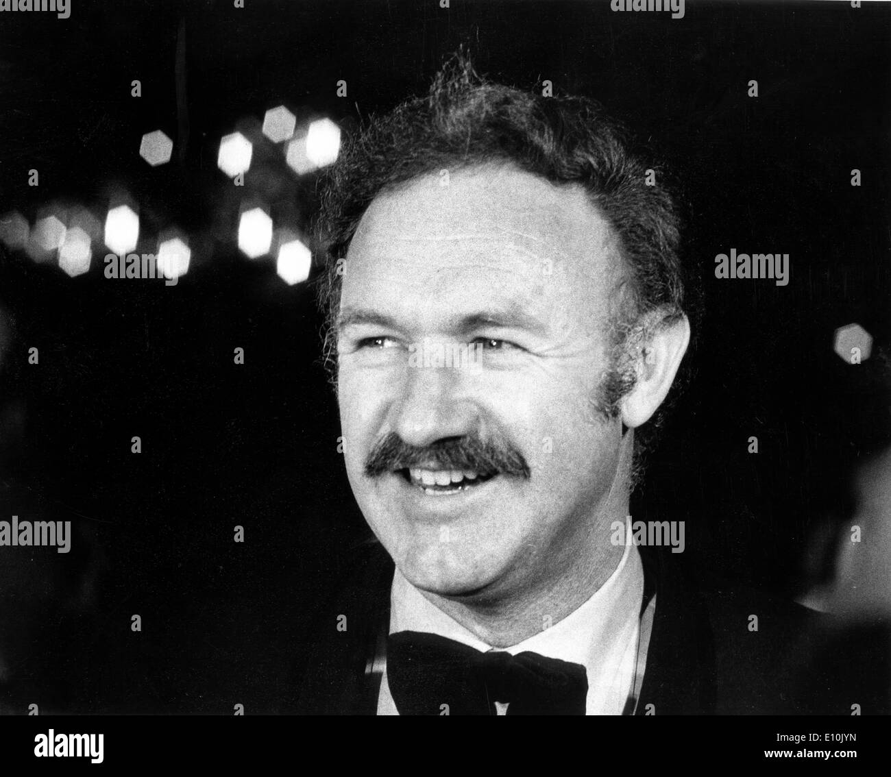 Actor Gene Hackman at the Academy Awards - Stock Image