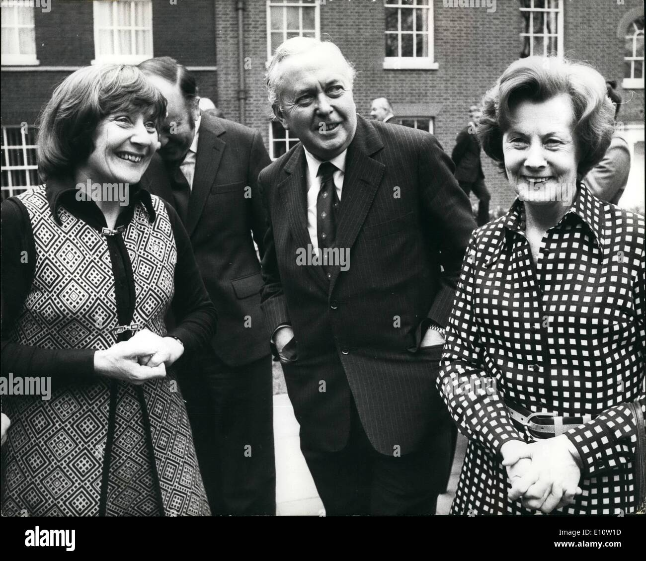 Apr 04 1974 The Prime Minister And Members Of His Cabinet Meet