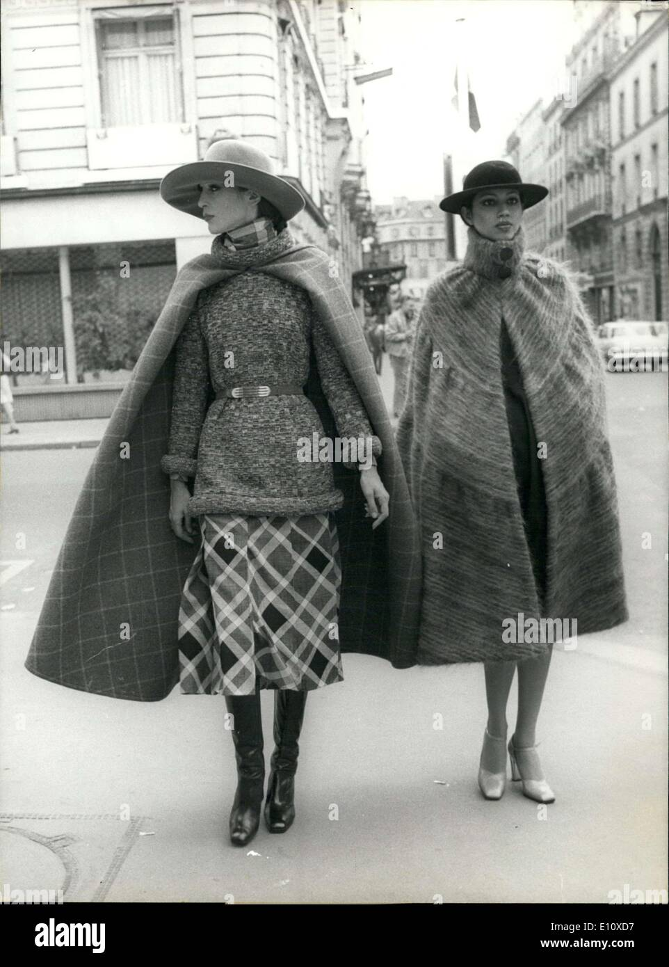 Jul. 25, 1974 - Pierre Cardin Presents Fall Winter Collection - Stock Image
