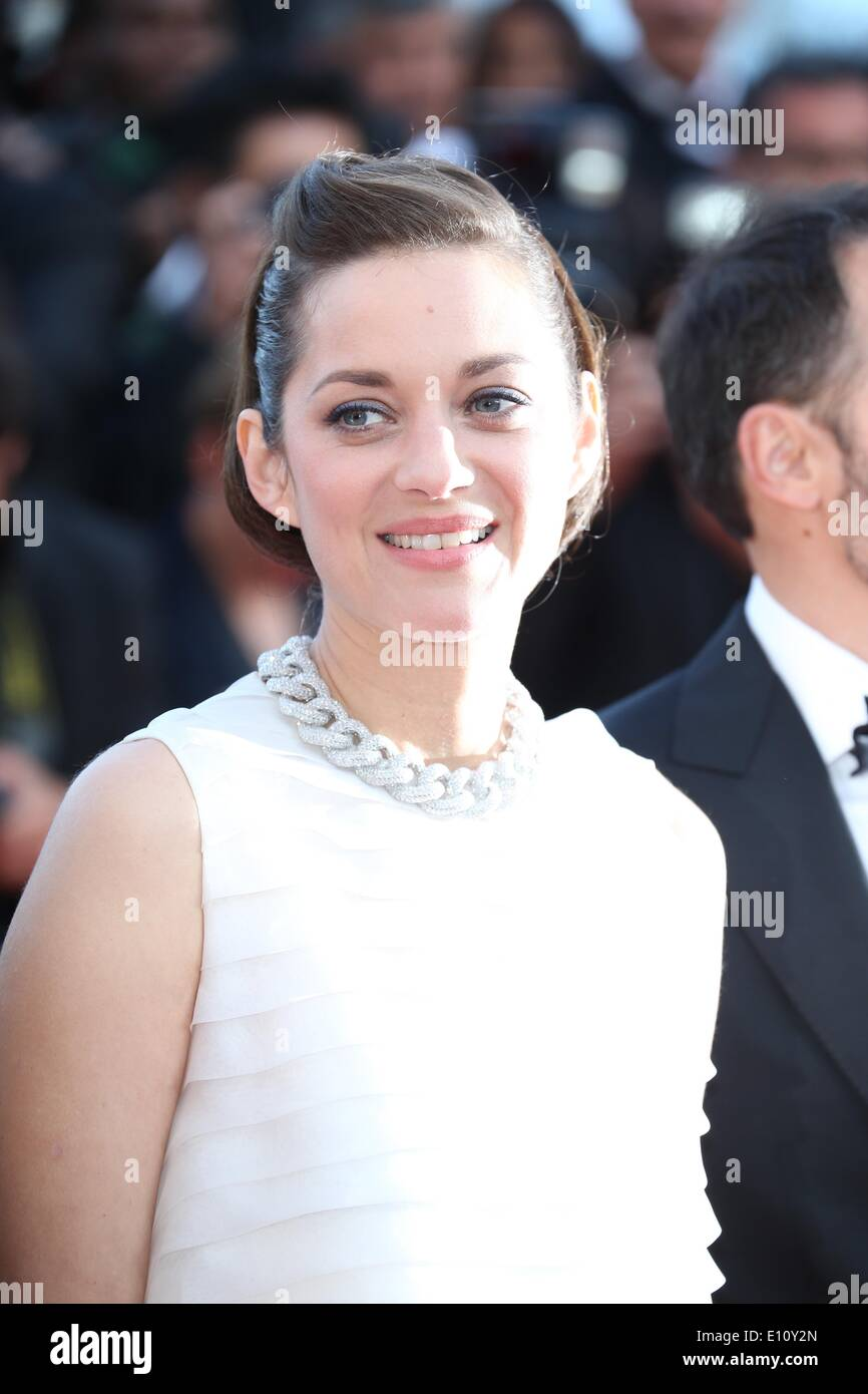 French Actress Marion Cotillard Attends The Screening Of The