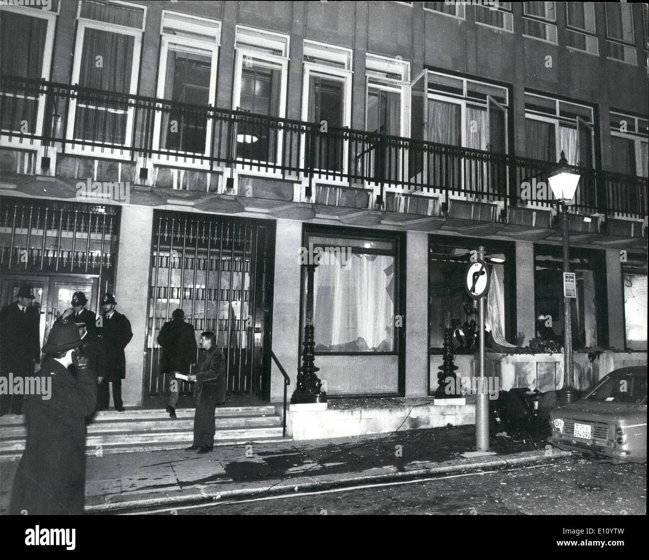 Oct 10 1974 Bomb Blast Services Clubs In London S West