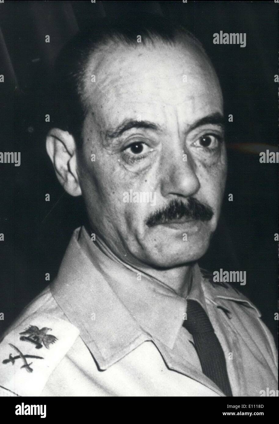 Dec. 27, 1974 - Genera; Gamassi of the Egyptian Army - Stock Image