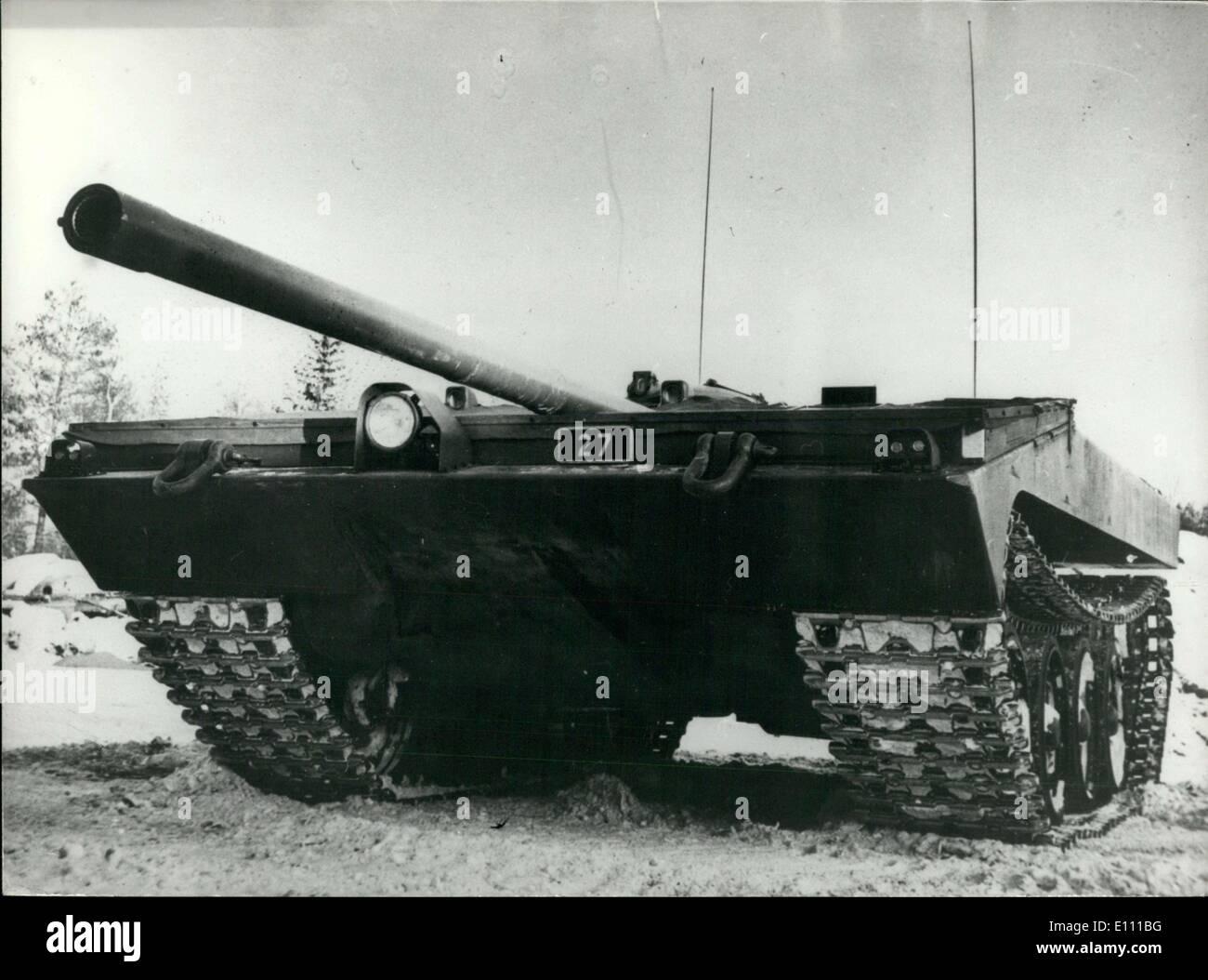 Mar. 25, 1975 - Swedish-made S 103 Tanks May be Sold to USA - Stock Image