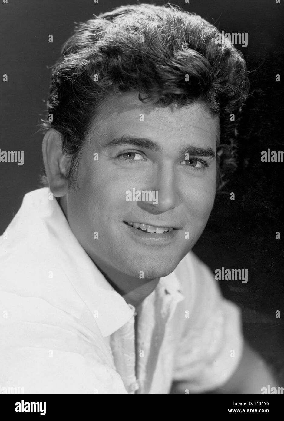 American actor, producer and director, MICHAEL LANDON, who starred in three popular NBC TV series - Stock Image