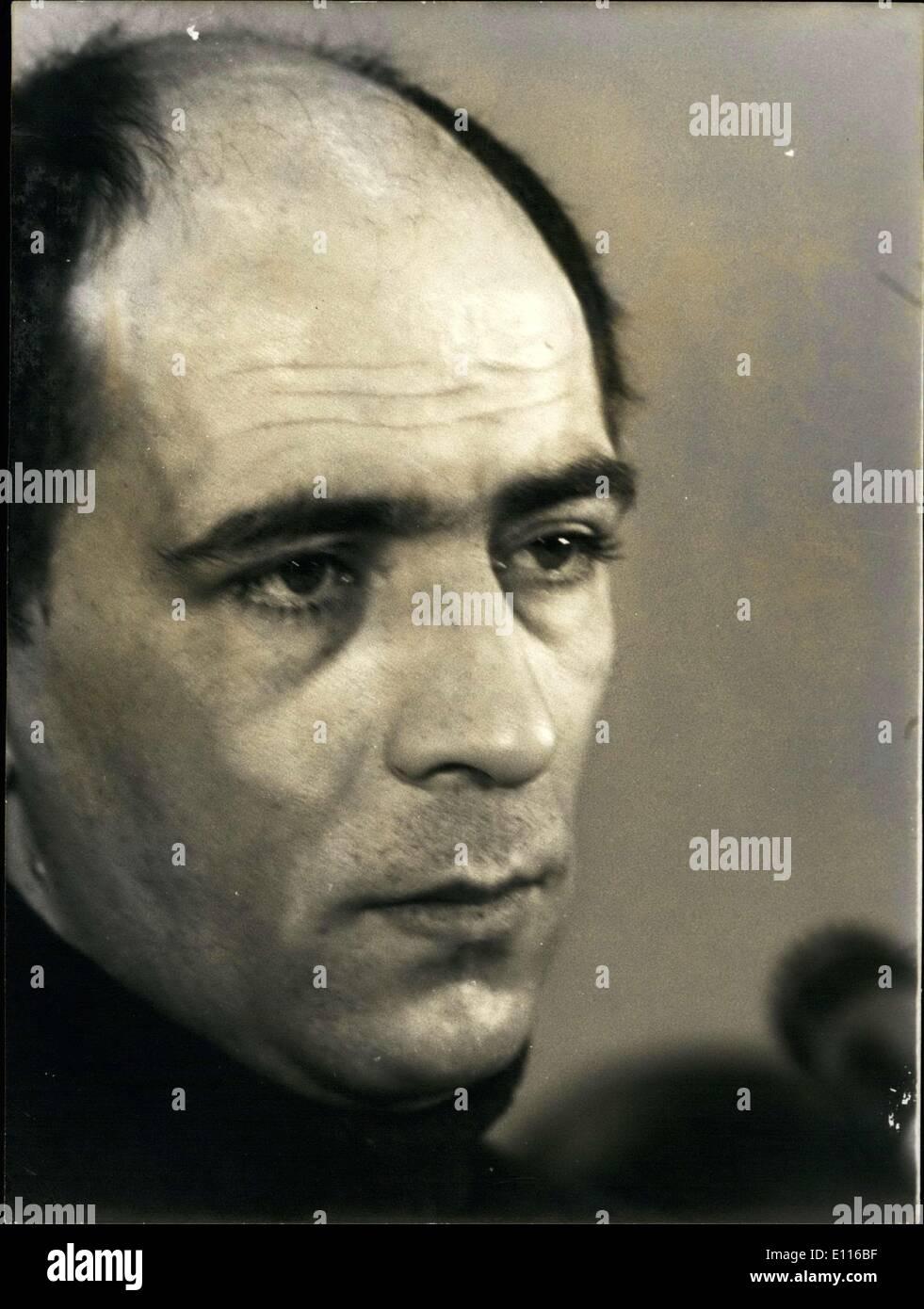 Feb. 03, 1976 - Ukrainian Mathematician Leonid Plyushch - Stock Image