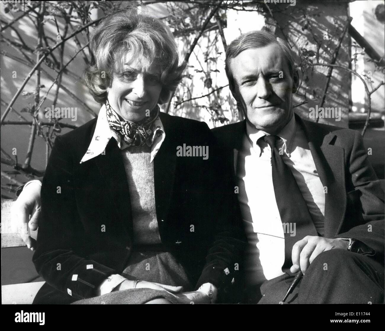 Mar. 03, 1976 - At home with Anthony Wedgwood Benn- one of the candidates for the labour party leadership: MR ANTHONY - Stock Image