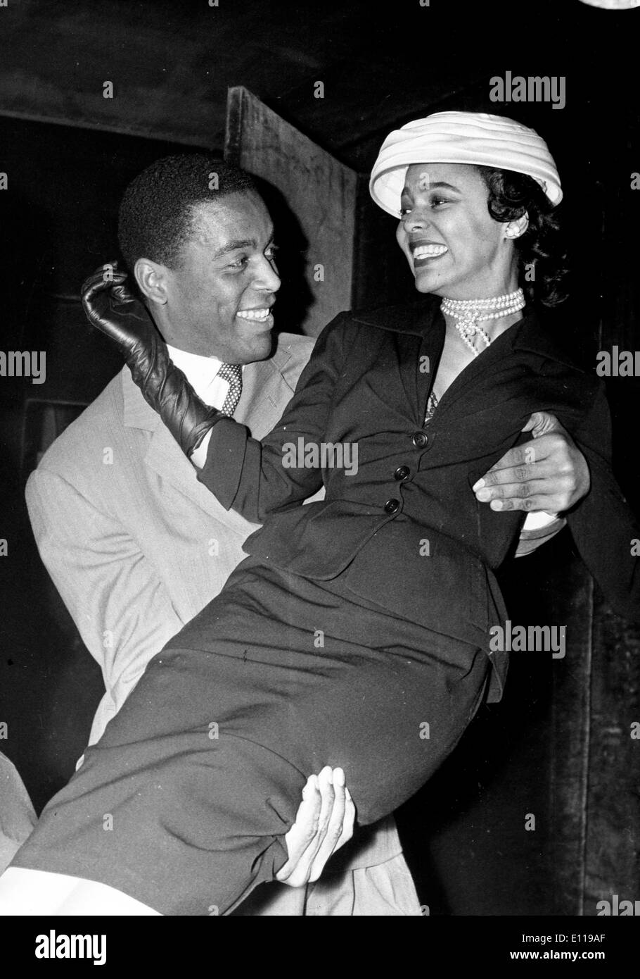 Dorothy Dandridge and Alex Cressan will co-star - Stock Image