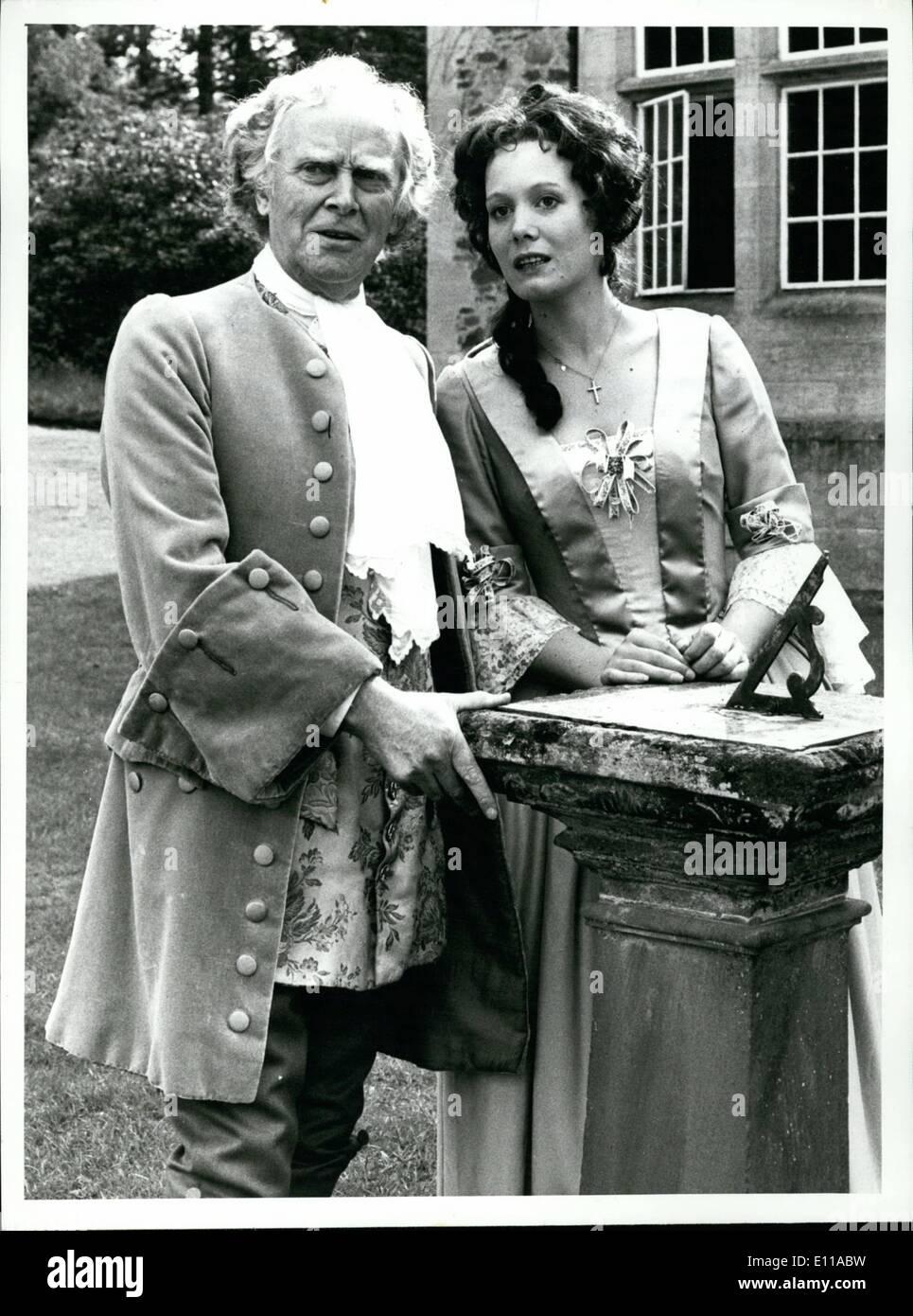 Jun. 06, 1976 - Ralph Michael, as Sir Frederick Vernon with Jane Wymark