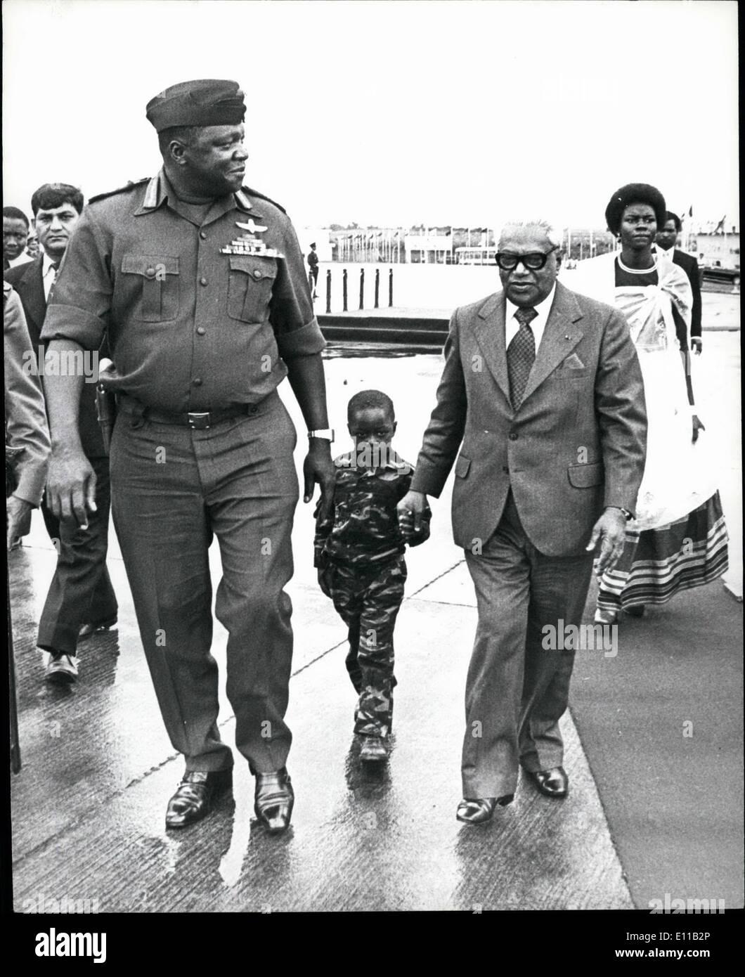 President Idi Amin Uganda Stock Photos & President Idi Amin