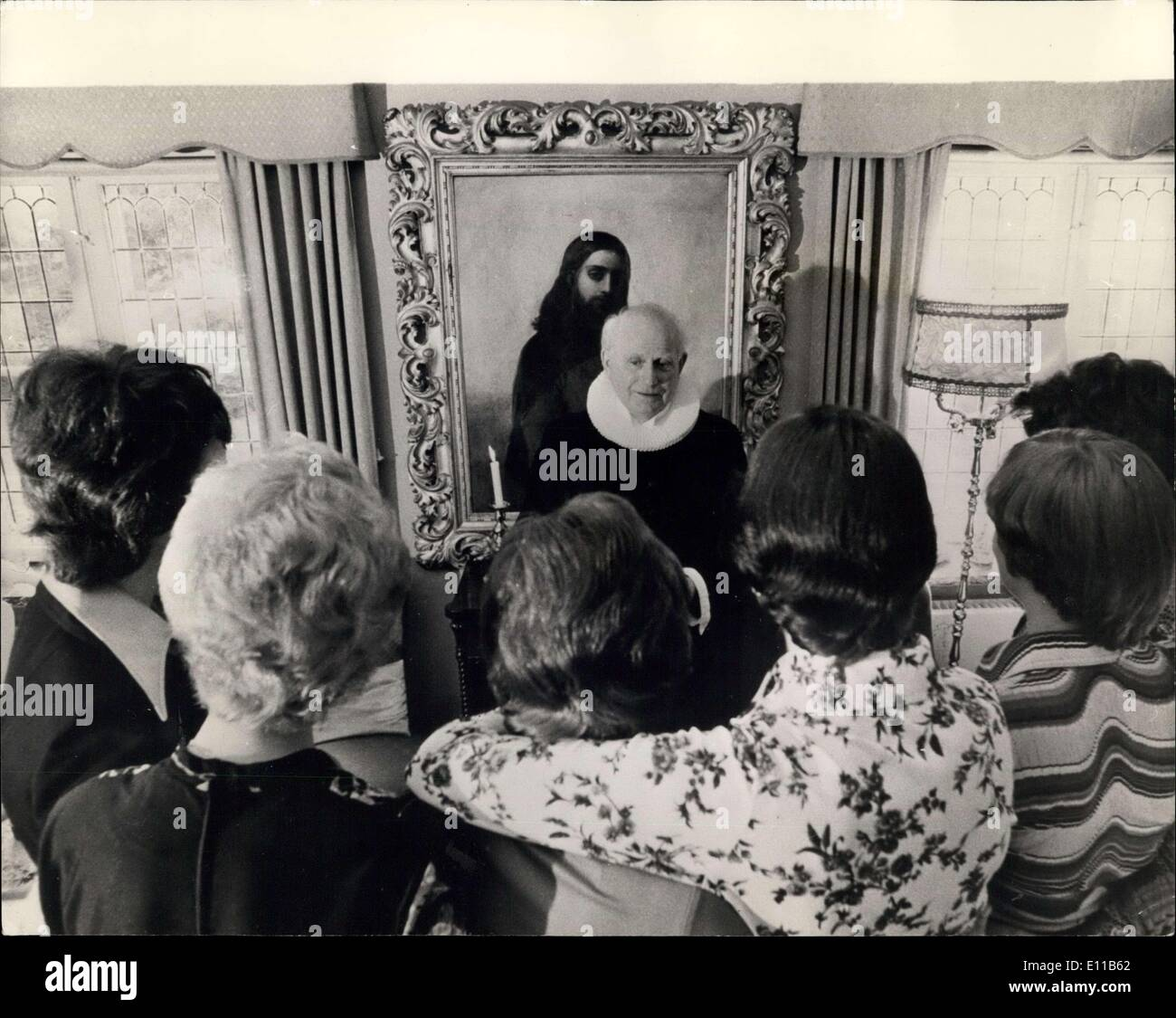 Nov. 10, 1976 - A triple Wedding With A Difference-The Three Couples Were All Females: Three weddings at the same - Stock Image