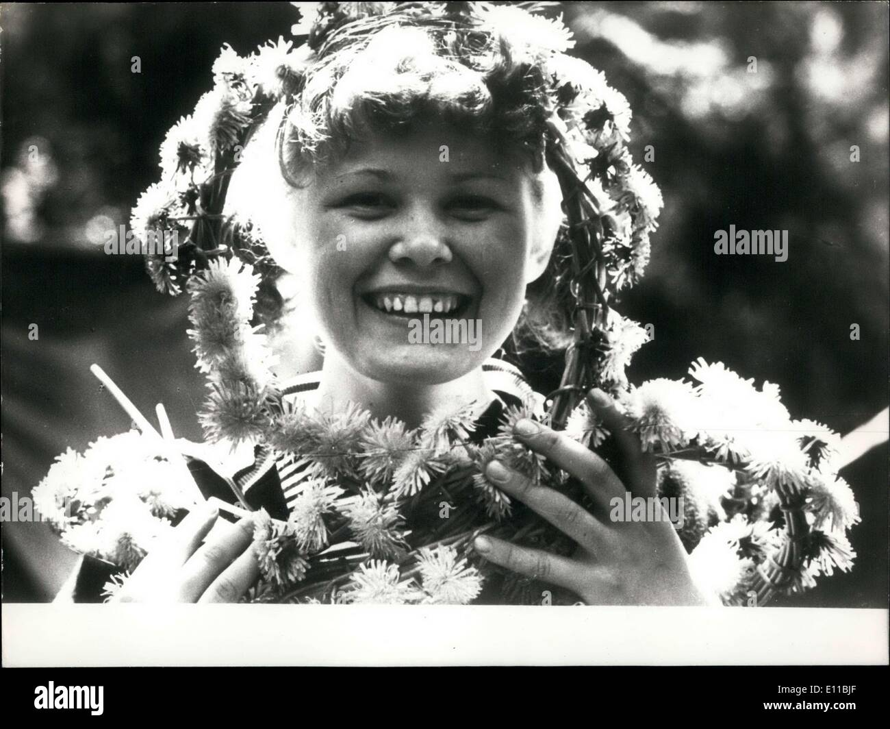Aug. 06, 1976 - The Soviet Union's Queen of Summer - Stock Image