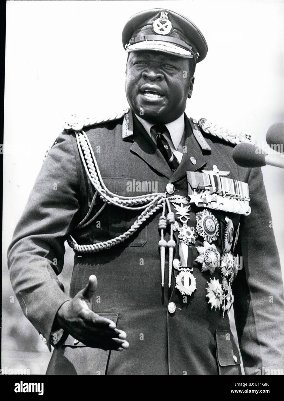 Idi Amin Stock Photos & Idi Amin Stock Images - Alamy