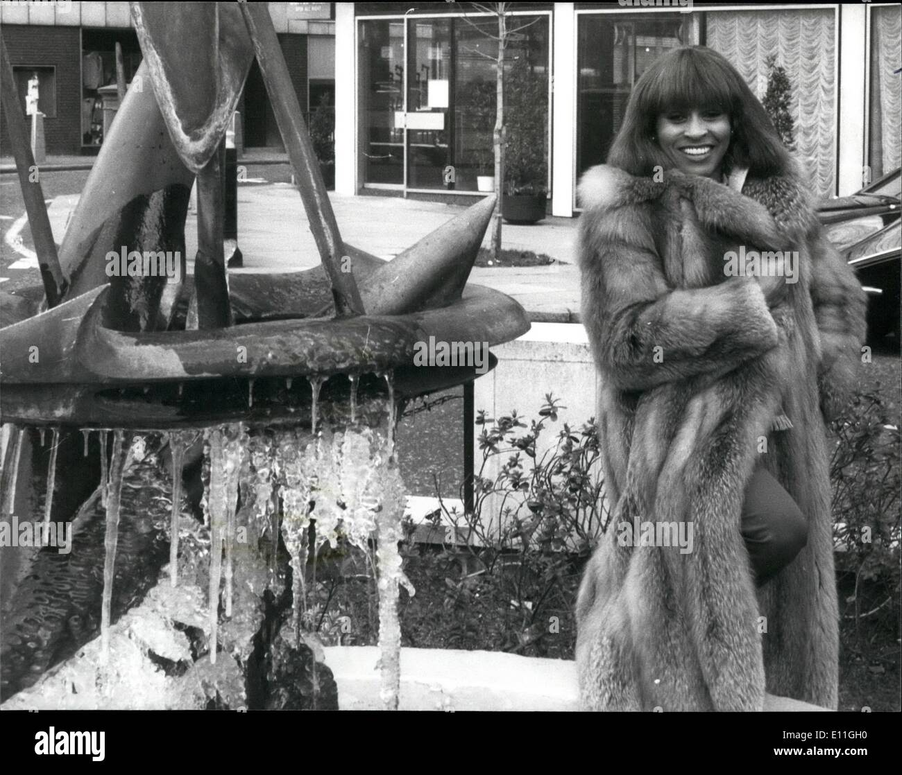 Feb. 02, 1978 - AMERICAN SOUL SINGER TINA TURNER IN BRITAIN Tina Turner, who has been described by the critics as Stock Photo