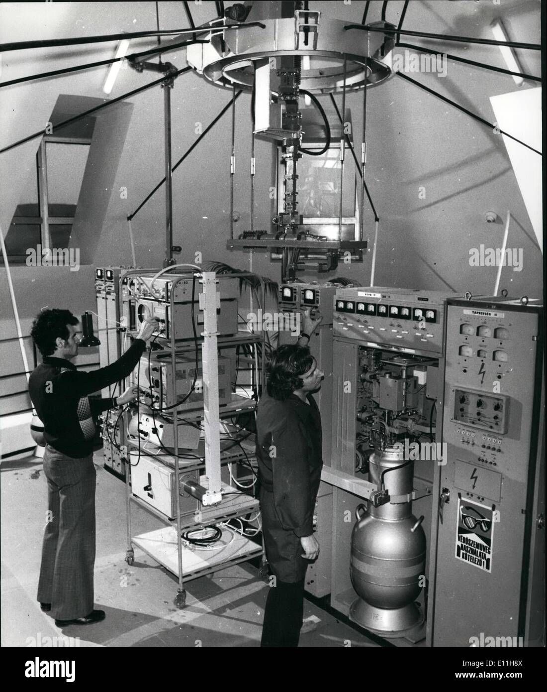 Jan 01 1978 Space Satellite Tracing And Telecommunication Electrical Wiring Station Commissioned In Hungary The Here Was
