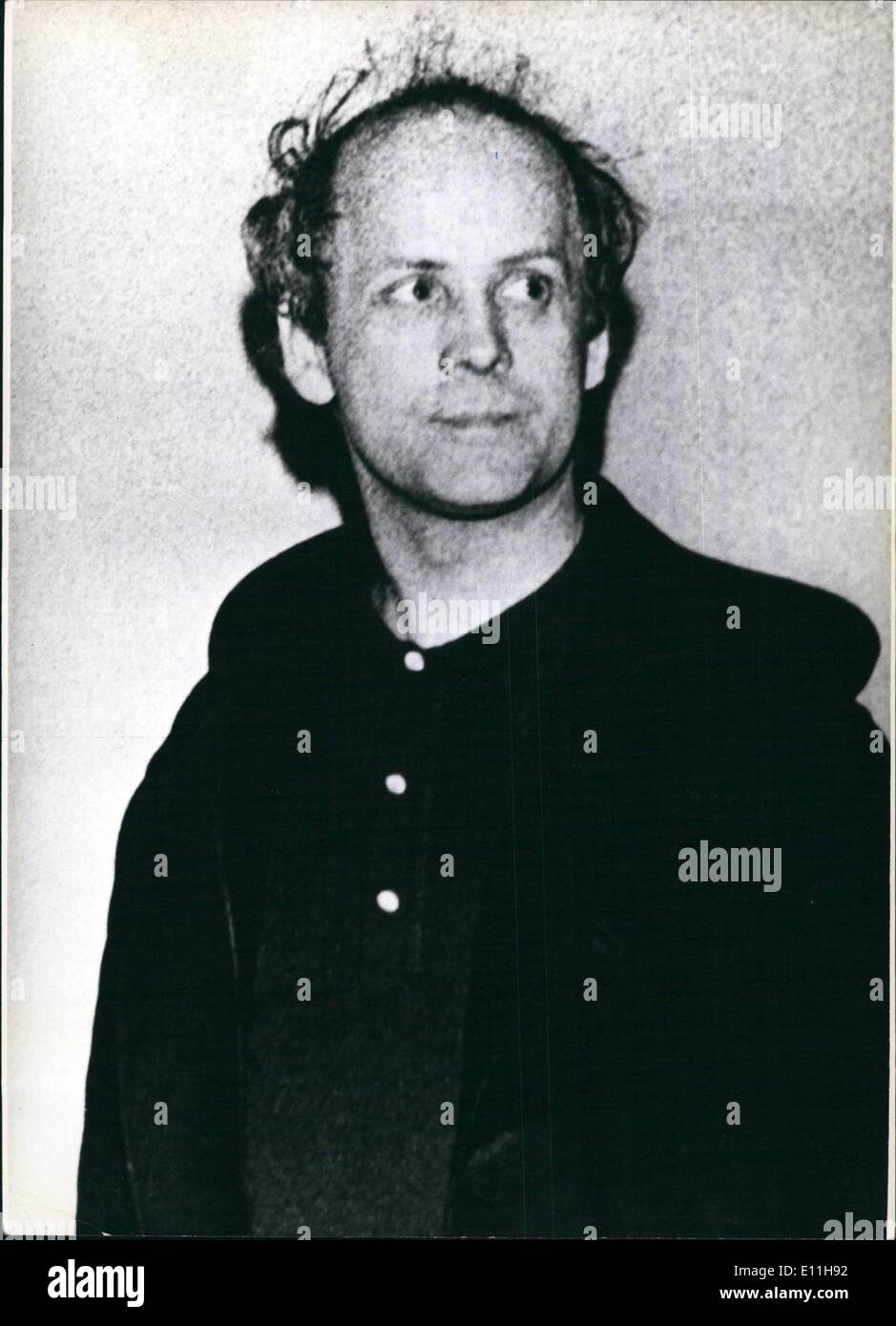 Jan. 01, 1978 - Opening Of The Trial Against Lawyer Groenewold At Hamburg: On January 18th, 1978 at Hamburg there will be opened the trial aganist Kurt Groenewold. The Hamburg lawyer is indicated for support of a criminal alliance, the so-called ''Baadar-Meinhof-Bande'' (RAF/ Rote Armes Fraktion). Between 1973 and 1975 Kurt Groenewold has been - alternating - the advocate of Andrea Baader, Gudrun Ensslin, Ulrike Meinhof and Jan Carl Raspe, the leading members of the RAF - Stock Image