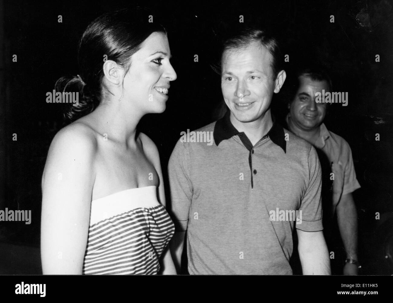 Christina Onassis with husband Sergei Kauzov - Stock Image