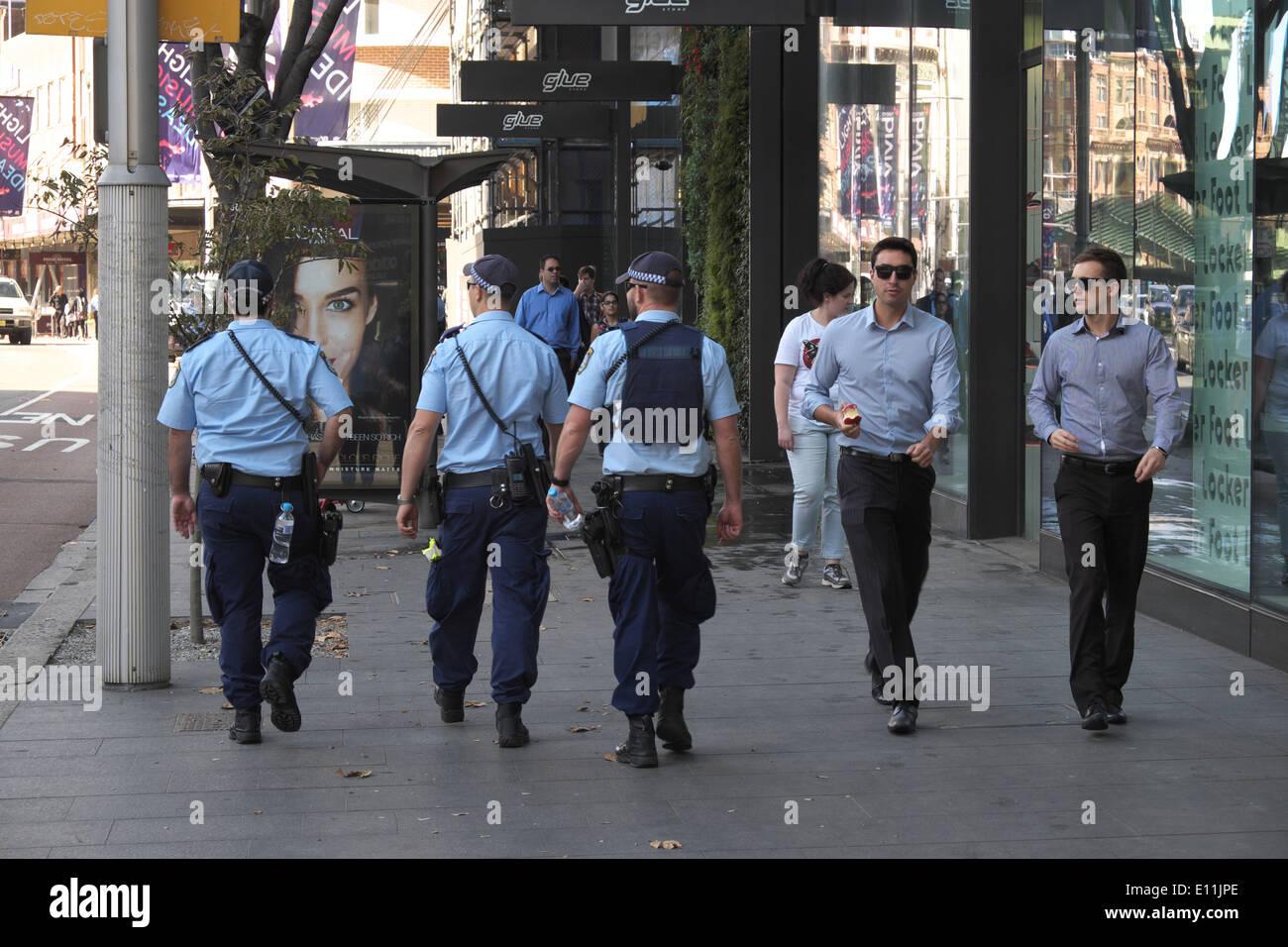 Australian Police Men Stock Photos & Australian Police Men