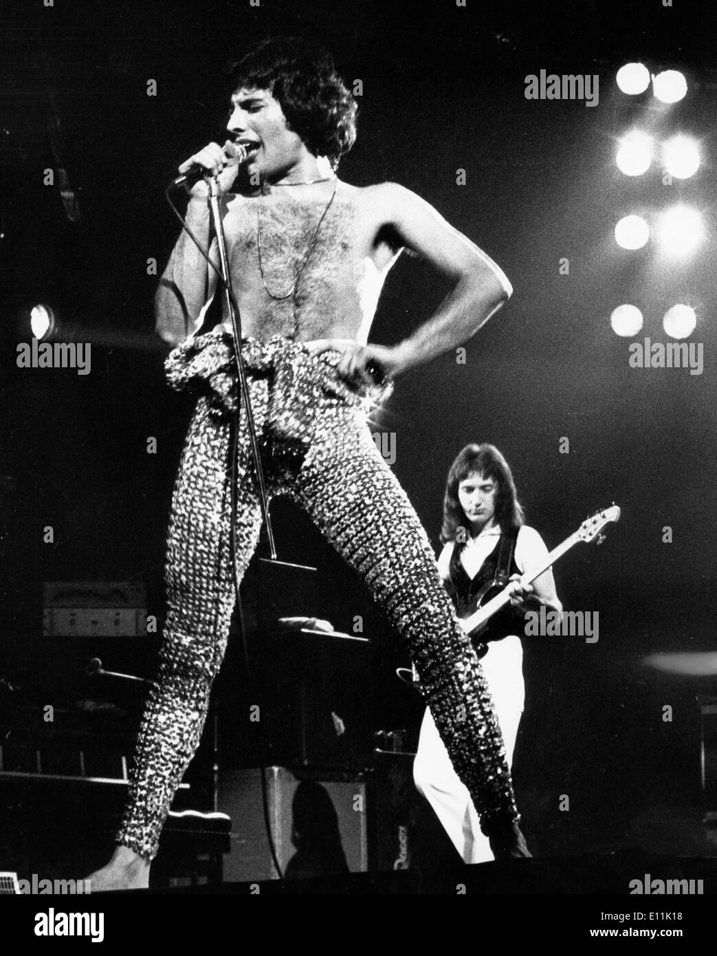May 12, 1978; London, England, UK; Lead singer of 'Queen ...