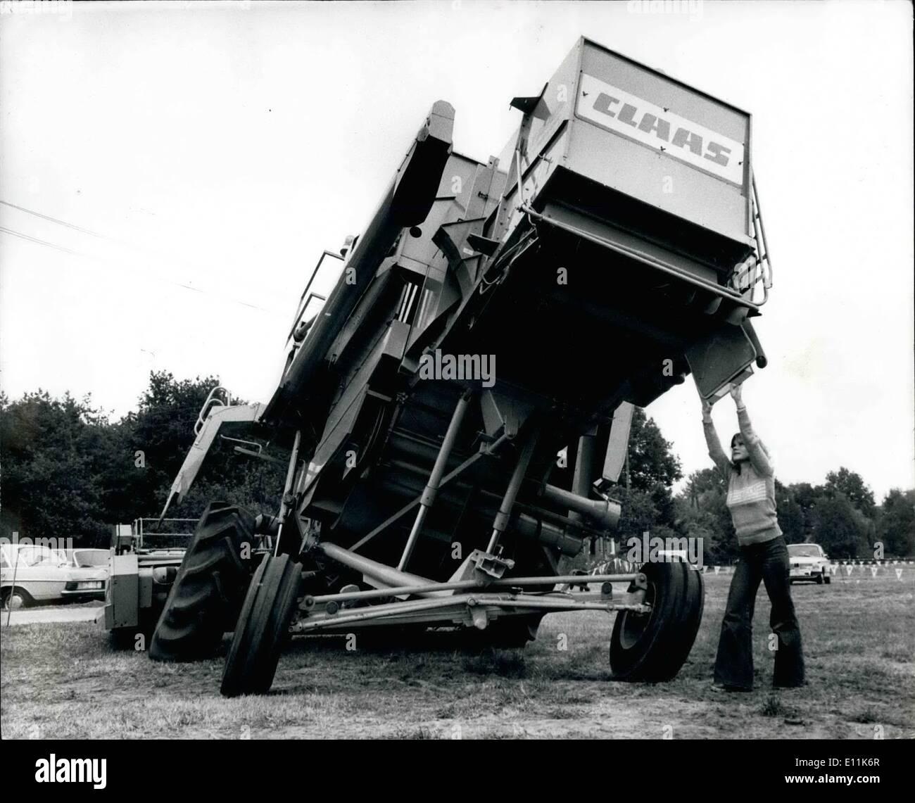 Sep  09, 1978 - Combine Harvester: A Combine harvester, developed in