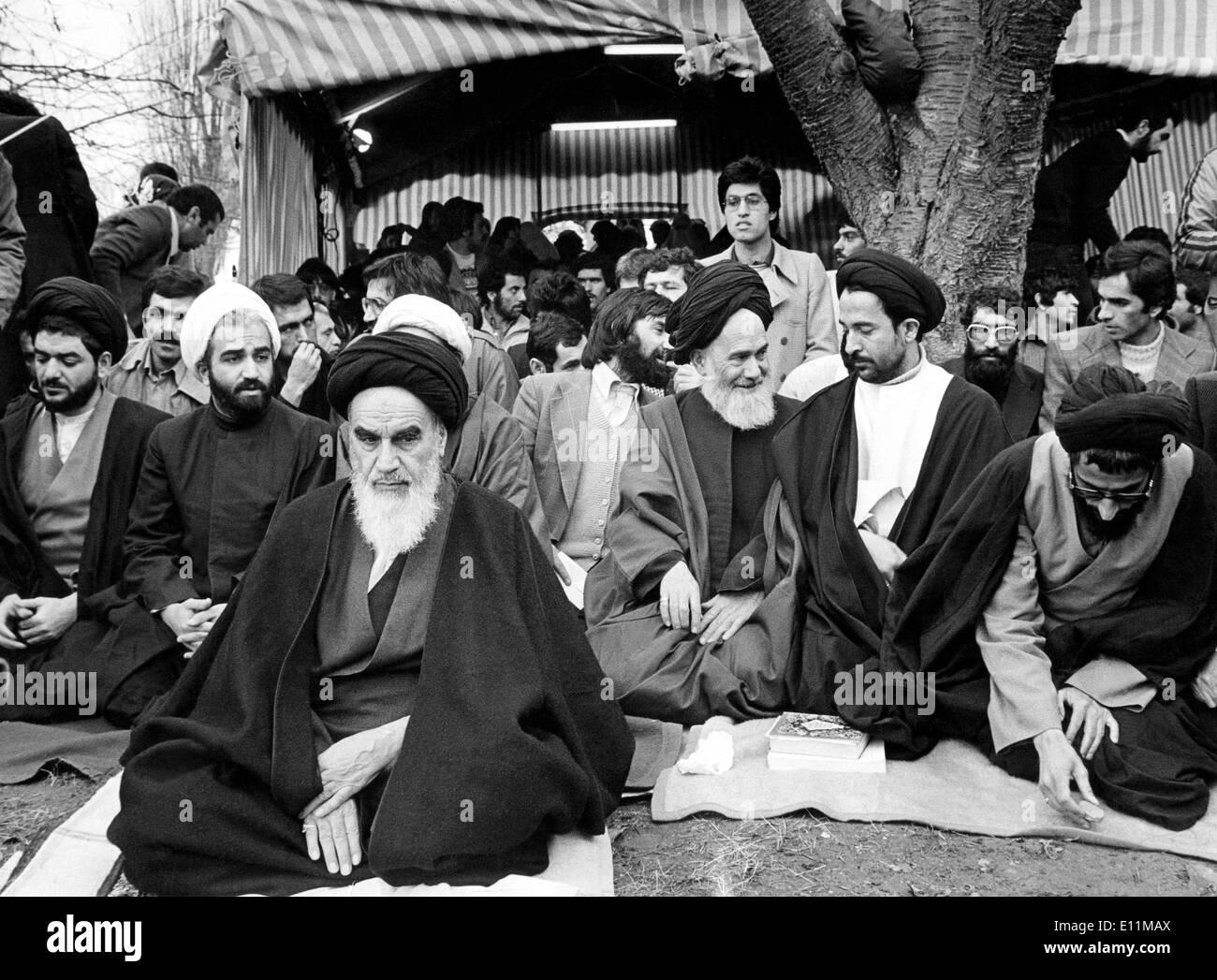 5527613 (900326) Ayatollah KHOMEINI (24.09.1902 - 03.06.1989, Ruhollah Mussawi HENDI) iranischer Religionsf hrer Stock Photo