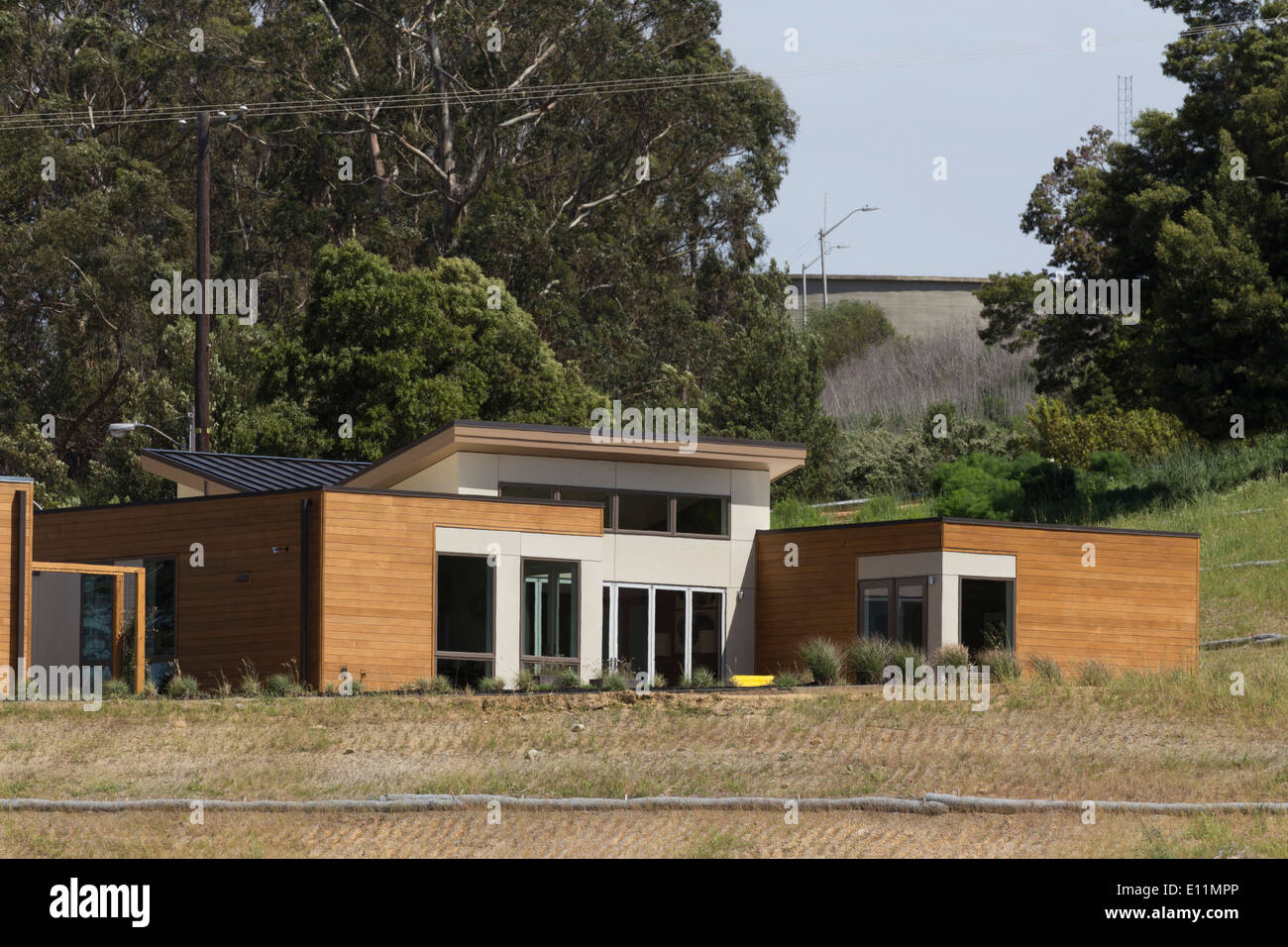 Blue homes model prefab home on mare island in vallejo ca